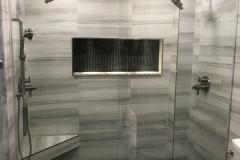 Contemporary Bathroom remodeling in Pompano Beach