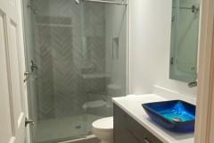 Completed Bathroom remodel in Coral Springs, FL