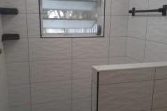 Custom tile-work in Condominium bathroom remodeling in Margate, FL