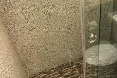 Contemporary modern Condominium bathroom remodeling in Plantation