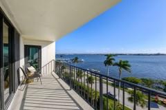 Florida condo Balcony after remodel