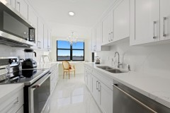 Galley style Kitchen remodeled