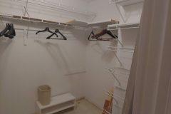 Master Closet interior