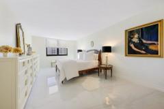 Master bedroom remodeling complete