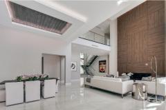 remodel celings 4: lighting installed in modern living room