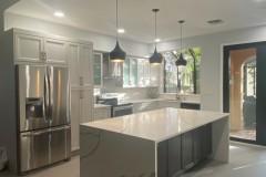 Kitchen island remodeling in Deerfield Beach, FL