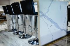 Kitchen islands in Tamarac added during condominium kitchen remodeling