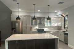 Contemporary kitchen renovations in Pompano Beach, FL