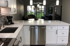Condominium kitchen remodel in Fort Lauderdale