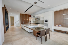 Modern kitchen remodeling process in Coral Springs, FL
