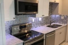Remodeled kitchen in Margate, Florida