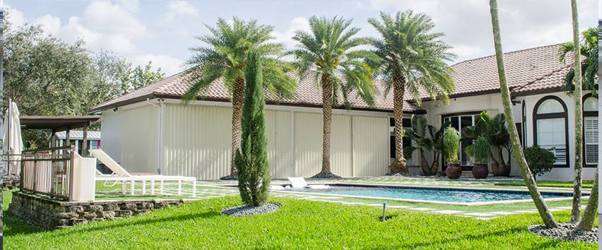 Accordion Shutters in Fort Lauderdale, Pompano Beach, Boynton Beach
