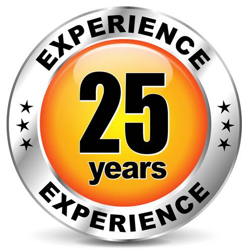 25 Years Experience Phoenix Remodeling South Florida Badge