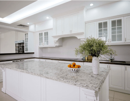 Kitchen remodeling process in Margate, FL for custom countertops and cabinetry
