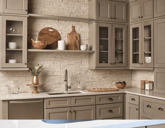 Kitchen Cabinets in Newport Millstone