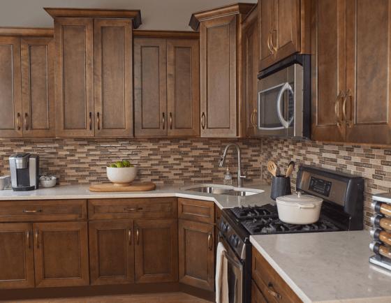 Kitchen Cabinets in Portland Chestnut
