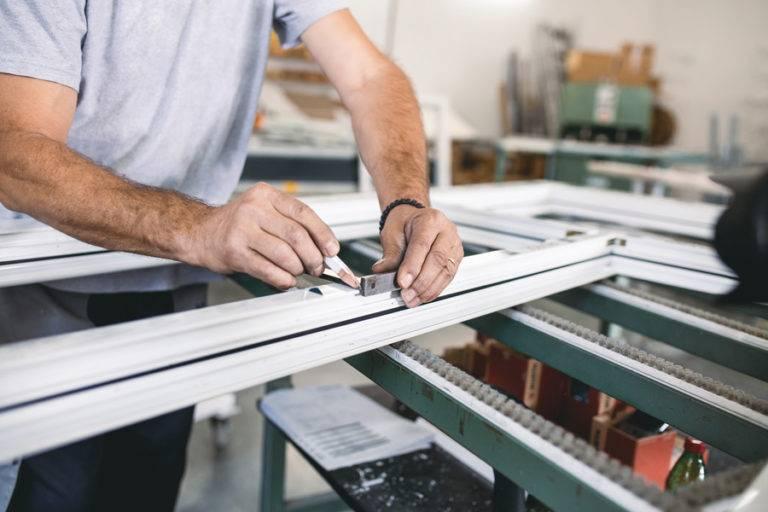 Aluminium window replacement manufacturing