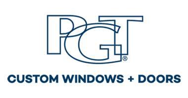 PGT Custom Windows + Doors Logo